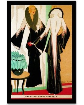 On Sale Now 75 Off Trademark Fine Art Deco Fashion 1932 Graphic Art Print On Wrapped Canvas Ali19920 C Size 24 H X 16 W