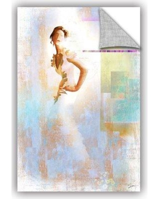 """ArtWall Diva I' by Greg Simanson Removable Wall Decal JJM8672 Size: 24"""" H x 16"""" W x 0.1"""" D"""