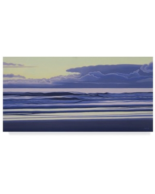 Trademark Fine Art 'Morning Clouds' Canvas Art by Ron Parker