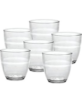 Duralex Made In France Gigogne 5-3/4-Ounce Glass, Set of 6
