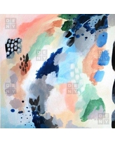 "East Urban Home Seasons Abstract Blanket ETHM6392 Size: 80"" L x 60"" W"