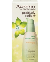 Aveeno Positively Radiant Daily Facial Moisturizer With Broad Spectrum Spf 30 - 2.5 fl oz