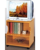 """Wrought Studio Lundquist 24"""" TV Stand BF094276 Color: Light Cherry"""