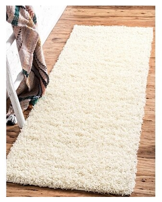 """Sybil Ivory Area Rug RugPal Rug Size: Runner 2'6"""" x 13'"""