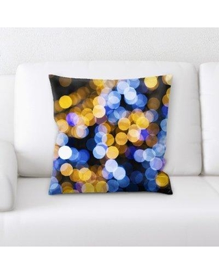 East Urban Home Blurred Out Throw Pillow BI123875