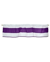 Baby Doll Lodge Collection Window Valance in Plum