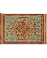 2'X3' Woven Accent Rug Floral - Threshold, Spiced Green