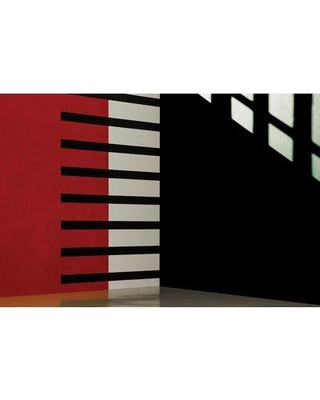"East Urban Home 'Untitled XIII' Graphic Art Print on Canvas URHE1440 Size: 26"" H x 40"" W x 1.5"" D"