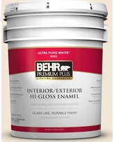 Here S A Great Deal On Behr Premium Plus 5 Gal 70 Linen White Hi Gloss Enamel Interior Exterior Paint