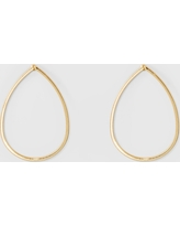 Metal Drop Earrings - A New Day Gold, Size: Large