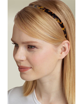 France Luxe Skinny Headband, Size One Size - Brown