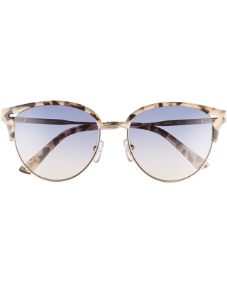 Women's Ted Baker London 52mm Round Sunglasses - Iovry/ Blue Pink