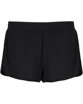 LIVELY The Terry Women's Lounge Shorts, Size X-Small in Jet Black at Nordstrom