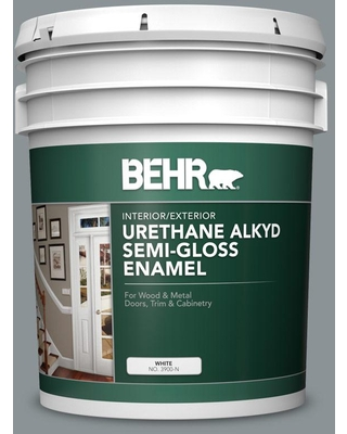 The Best Sales For Behr 5 Gal Home Decorators Collection Hdc Nt 27 Millennium Silver Urethane Alkyd Satin Enamel Interior Exterior Paint