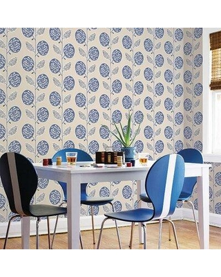 """Galerie Wallcoverings 32.8' L x 21"""" W Wallpaper Roll GALW1161 Color: Blue"""