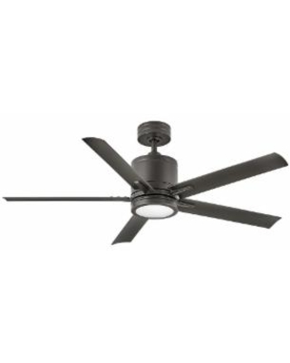 Hinkley Lighting Vail Outdoor Rated 52 Inch Ceiling Fan with Light Kit - 902152FMM-LWD