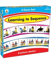 Assorted Publishers Learning to Sequence 6-Scene Board Game, Ages 4 and up | Quill