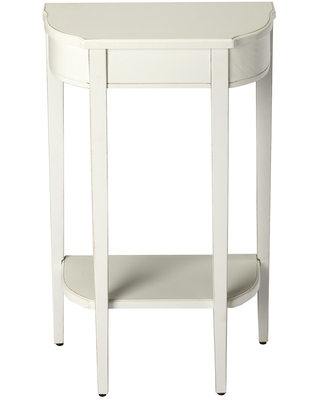 Handmade Butler Wendell Cottage White Console Table (China) (White)
