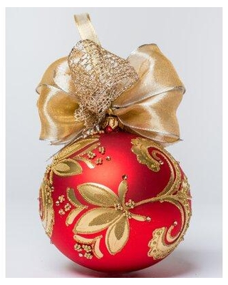 The Holiday Aisle Swirl Ball Ornament X113328711