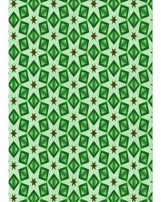 East Urban Home Clermt Wool Green Area Rug X112706337 Rug Size: Rectangle 4' x 6'