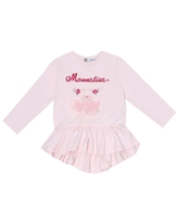 Baby embroidered cotton top