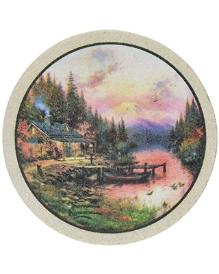 Thirstystone Drink Coaster Set, The End of a Perfect Day