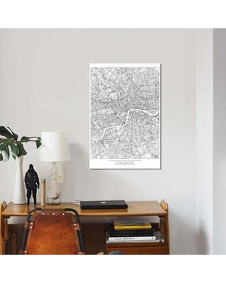 Labor day sales on east urban home london minimal urban blueprint east urban home london minimal urban blueprint map graphic art print on canvas ebhu7062 malvernweather Gallery