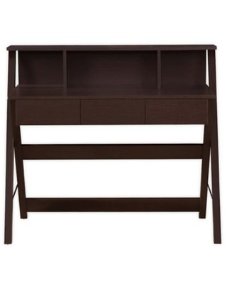 Techni Mobili Writing Desk with Storage in Wenge