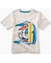 Tea Collection Surfing Pelican Graphic Tee