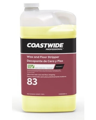 Coastwide Professional Floor Stripper Wax and Finish Remover 83 Concentrate for ExpressMix, 3.25L, 2 | Quill