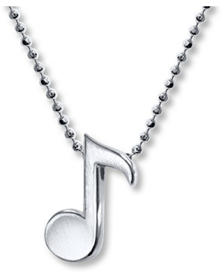 350cb0a93 Savings on Alex Woo Musical Note Necklace Sterling Silver