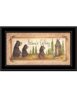 Millwood Pines 'Natures Calling' Framed Acrylic Painting Print BI095033 Format: Black Framed