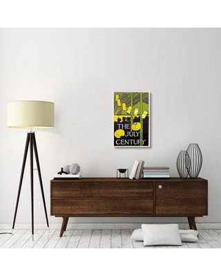 """East Urban Home 'The July Century 1895' Graphic Art Print on Canvas ESUH3034 Size: 30"""" H x 20"""" W x 1.5"""" D"""