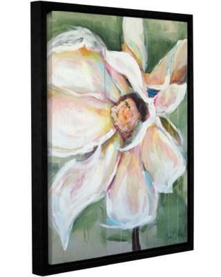 """One Allium Way Magnolia Framed Painting Print on Wrapped Canvas OAWY5591 Size: 10"""" H x 8"""" W x 2"""" D"""