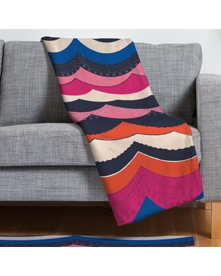 Deny Designs Vy La Unwavering Love Throw Blanket 16658-fle Size: Small