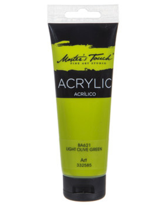 Light Olive Green Master's Touch Acrylic Paint - 4.1 Ounce
