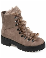 Journee Collection Women's Regular Trail Boot - Taupe