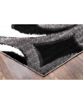 Here S A Great Deal On Ambridge Geometric Shag Gray Area Rug Wrought Studio Rug Size Runner 2 X 6