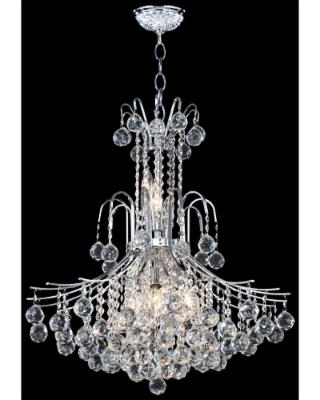 James Moder Cascade 25 Wide Silver Chandelier From Lamps Plus Bhg