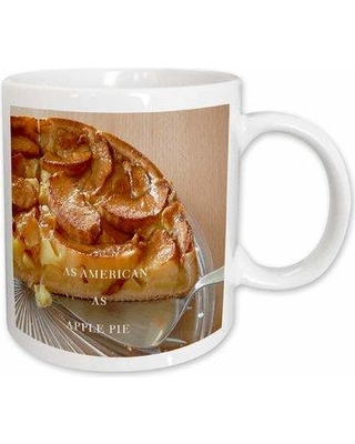 East Urban Home As American As Apple Pie Coffee Mug W000141195