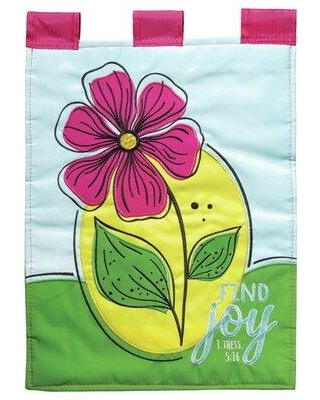 Shop Deals On Dicksons Inc Find Joy 2 Sided Polyester 18 X 13 In Garden Flag In Green Size Small Less Than 13 Wide Medium 13 30 Wide Wayfair Flag 2058