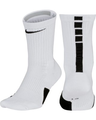 24a8b0bbdc1 Nike Nike Elite Basketball Crew Socks, Boy's, Size: Large, White from DICKS  Sporting Goods | more