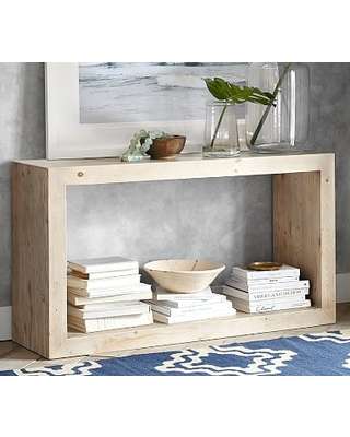 Remarkable Deals On Folsom 52 Open Console Table Desert Pine