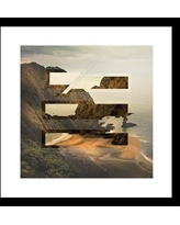 """Curioos By The Sea by Jacob Reynolds Framed Photographic Print CRIO1205 Size: 20"""" H x 20"""" W x 1"""" D"""