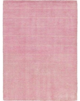 Latitude Run® Taul Hand-Knotted Wool Pink Area RugWool in Brown/Pink, Size 89.0 H x 63.0 W x 0.75 D in | Wayfair LTTN3585 44545084