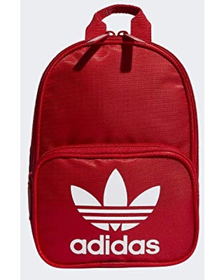 adidas Originals Women's Santiago Mini Backpack, Scarlet, ONE SIZE
