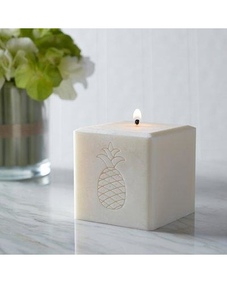 Bay Isle Home Pineapple Unscented Votive Candle X111314150