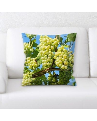 East Urban Home Grapes Throw Pillow W000763995