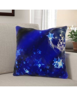 Savings On The Holiday Aisle Eastleigh Christmas Ornament Indoor Outdoor Canvas Throw Pillow Polyester Polyfill In Blue Size 18x18 Wayfair