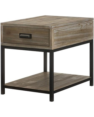 Parsons Collection 444-915 Rectangular Drawer End Table in